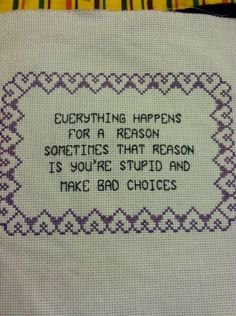 Thrilling Designing Your Own Cross Stitch Embroidery Patterns Ideas. Exhilarating Designing Your Own Cross Stitch Embroidery Patterns Ideas. Cross Stitching, Cross Stitch Embroidery, Embroidery Patterns, Cross Stitch Designs, Cross Stitch Patterns, Diy Broderie, Cross Stitch Quotes, Do It Yourself Inspiration, Geeks