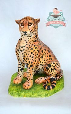 Cheetah - Cake by pavlo