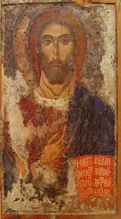 Christ the Teacher Religious Images, Religious Icons, Religious Art, Byzantine Icons, Byzantine Art, Origin Of Christianity, Religious Paintings, Orthodox Icons, Dance Art