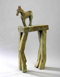 paard op tafel