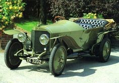 1912 Mercedes-Benz Model 90 Touring Car Olive Green