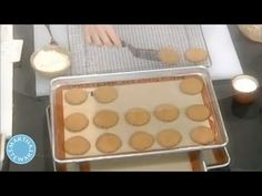 ▶ Old-Fashioned Peanut Butter Cookies - Martha Stewart - YouTube