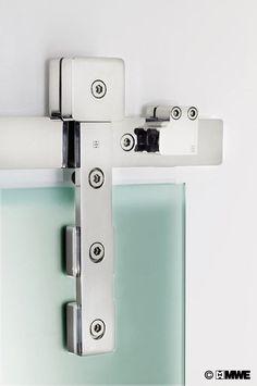 Akzent R sliding ladder manufactured by MWE // Designed by Mario Wille // www.mwe.de/en/door-systems/sliding-doors/classical-sliding-doors/sliding-door-akzent-r