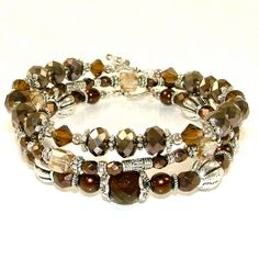 Dramatic+Dark+Brown+Stackable+Stretch+by+SylviaSwaseyDesigns,+$32.00