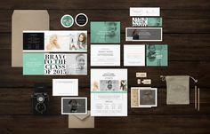 Senior Photography Marketing Set by Bittersweetdesignboutique on @creativemarket