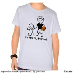 Big Brother - Stick Figures t-shirts