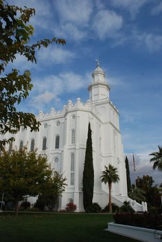 St George LDS Temple.  The house of the Lord