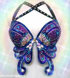 SocialMatic Get Social Festival Outfits, Festival Fashion, Edm Festival, Belly Dance Outfit, Belly Dance Costumes, Decorated Bras, Tutu Ballet, Mermaid Bra, Rave Girls