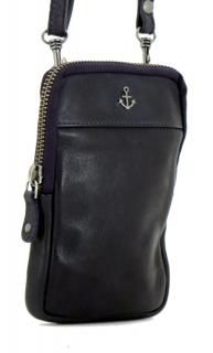 !!!Ledertasche mit Gürtelschlaufe Harbour 2nd Benita Navy blau Crossover, Leather Backpack, Backpacks, Bags, Fashion, Accessories, Navy Blue, Leather Bag, Dark Blue