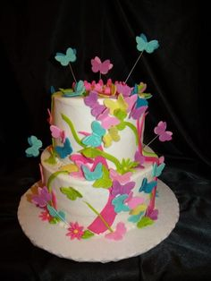 Butterfly Cake Photos From Andrea Sinclair Cakes By On