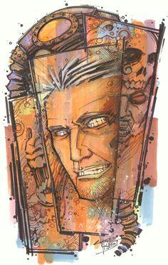 marker : The Corinthian by KidNotorious.deviantart.com on @DeviantArt