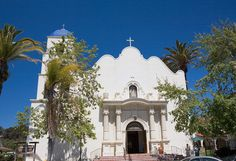 Old Town, San Diego | Picture - The Immaculate Conception Church in Old Town San Diego.