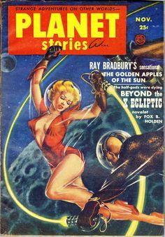 classic sci-fi pulp art - Google Search
