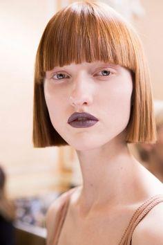 Der Trendlook Der Stars Frisuren Mit Pony Hairhaare Pinterest