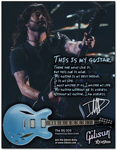 Gibson Guitars - Dave Grohl, Tom DeLonge, Slash - Print Ads by Kenny Chung