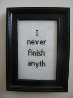 Funny quotes and sayings hilarious so true totally me 63 Ideas Cross Stitching, Cross Stitch Embroidery, Cross Stitch Patterns, Funny Embroidery, Quilled Creations, Haha, Funny Quotes, Dope Quotes, Baby Quotes