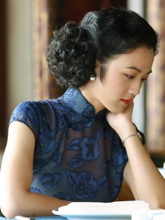 "Tang Wei as Wong Chia Chi in ""Lust, Caution"" (2007). Costume design by Lai Pan."