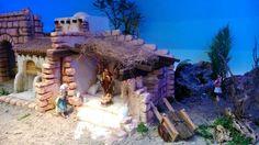 bles en nuestra tienda ya que son Styrofoam Crafts, Christmas Nativity Scene, Bible Art, Garden Bridge, Pergola, Outdoor Structures, House Styles, Creative, Diorama