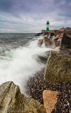 Lighthouse Sassnitz by Merten Hauschildt, via 500px