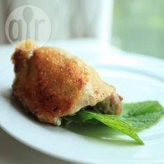 Cuisses de poulets farcies au fromage @ allrecipes.fr