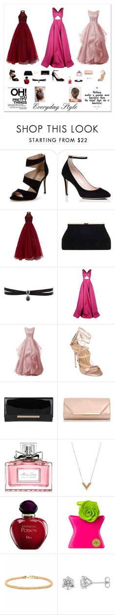 """Untitled #291"" by kaylajames234 ❤ liked on Polyvore featuring Carvela, Kate Spade, Jovani, Fallon, Michael Kors, Dsquared2, Jimmy Choo, Dorothy Perkins, Christian Dior and Louis Vuitton"