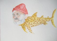 Bill Murray as the Jaguar Shark