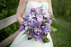 Wedding blog with seasonal flowers to remember. There's a Late Summer one that is nice but I like this Spring Bridal bouquet