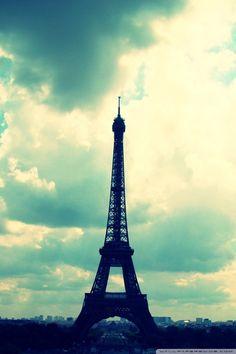 Strange & Charmed: 5 iPhone Wallpapers for April: Destination Paris