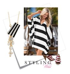 """""""Bold Stripes 👑"""" by styling-bliss ❤ liked on Polyvore featuring Post-It and Fendi"""