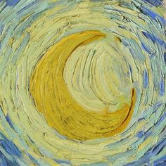 Starry Night (detail) by Vincent van Gogh