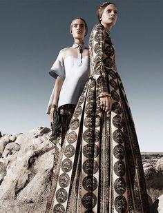 Malaika Firth, Ine Neefs by Craig McDean for Valentino S/S 2014