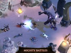 Dungeon Hunter 4 App by Gameloft. Fighting Game Apps.