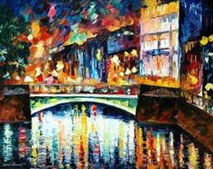 CALM SUNSET - L. AFREMOV by Leonidafremov on deviantART