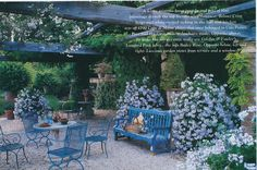 The home of Tom Parr in the South of France. House Beautiful, August 1997, Alexandre Bailhache photographer
