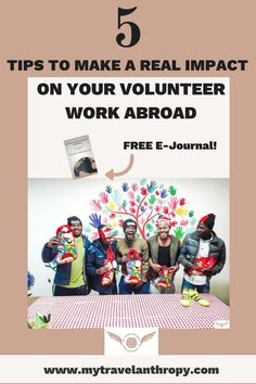 5 Tips to Make a Real Impact on Your Volunteer Work Abroad. Working Abroad can be intimidating, but don't worry, you can really make an impact with volunteering abroad! Tips to find the best volunteer program will help you also make the most impact! Volunteer Programs, Volunteer Work, Volunteer Abroad, Work Abroad, Responsible Travel, Ways To Travel, Travel Tips, Field Guide, Travel Scrapbook