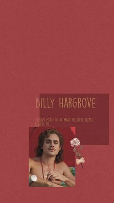 photo of billy hargrove, quote from the character written above the photo, red background, stranger things 3 wallpaper Stranger Things Merchandise, Stranger Things Quote, Stranger Things Season 3, Stranger Things Aesthetic, Stranger Things Netflix, Tumblr Wallpaper, Wallpaper Backgrounds, Iphone Wallpaper, Wallpaper Ideas