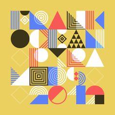 Pattern Typeface (free) by Tamer Köşeli, via Behance
