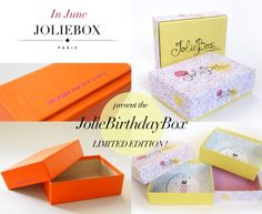 The Limited Edition Jolie Birthday Box ; Beauty Treats, Beauty Box Subscriptions, Birthday Box, Subscription Boxes, Own Home, First Birthdays, Decorative Boxes, Presents, Blog