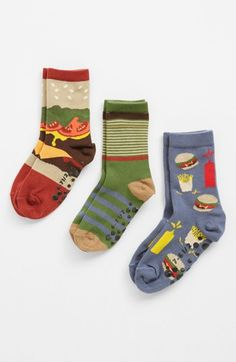 Nordstrom 'Drive Thru' Crew Socks (Walker Boys, Toddler Boys & Little Boys) | Nordstrom
