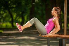 Aquí os dejo 5 ejercicios para hacer al aire libre. Están muy bien para hacer uno solo y disfrutar de los pocos días de calor que nos quedan.