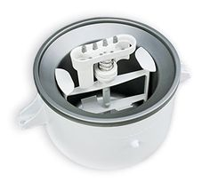 KitchenAid CERTIFIED REFURBISHED KICA0WH 2 Quart Ice Cream Maker Stand Mixer Attachment ** Check out this great product-affiliate link.