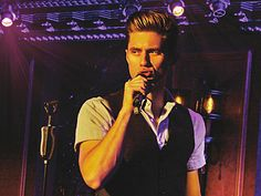 Well, there's this.  Aaron Tveit at 54 Below