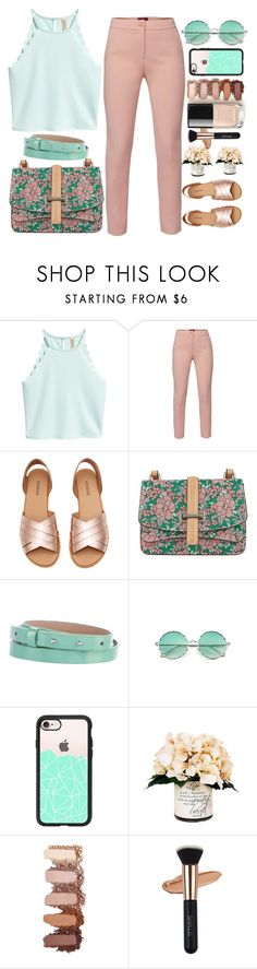 """Pastel Colors ❤"" by naomy-nona ❤ liked on Polyvore featuring WtR, Diane Von Furstenberg, Casetify and Creative Displays"