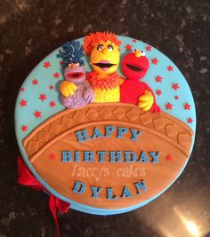 The furchester hotel themed cake :) loved creating this one!