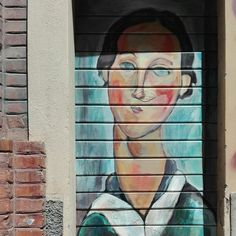 Street art, via del Pratello, Bologna, Italy