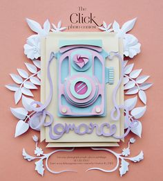 Click Magazine Photo Contest - Paper illustration by Katrine Hesselberg.