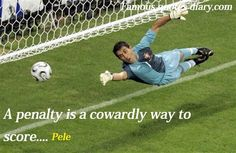 I agree, as goalie I know that when they call a penalty kick you get a rush of butterflies in your stomach