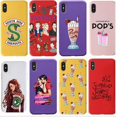 If this iconic TV series is your jam, then show up with this cute phone case to show your love for Riverdale. This cool deep red phone case features key themes and core characters in Riverdale. Suitable to the iPhone X/XR/XS/XS Max, and Max models. Iphone 6, Coque Iphone, Iphone Phone Cases, Phone Covers, Cellphone Case, Stickers Cool, Riverdale Merch, Riverdale Netflix, Bughead Riverdale