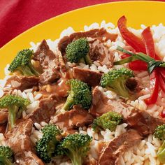 A dinner idea that's ready in less than 30 minutes! Serve this stir-fry over rice or Asian noodles.