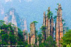Wulingyuan , China.